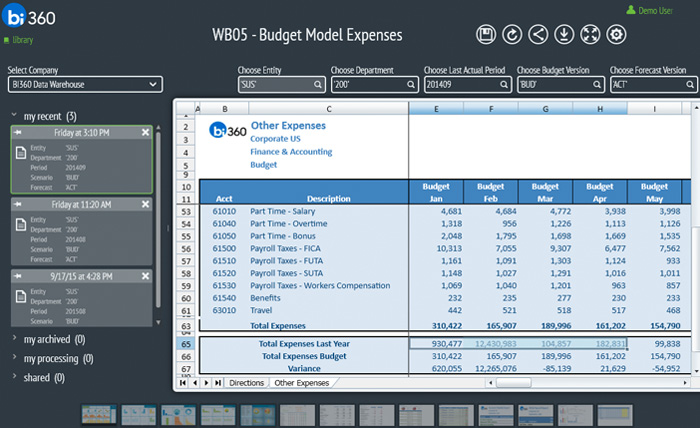 Budget Modeling for Microsoft Dynamics
