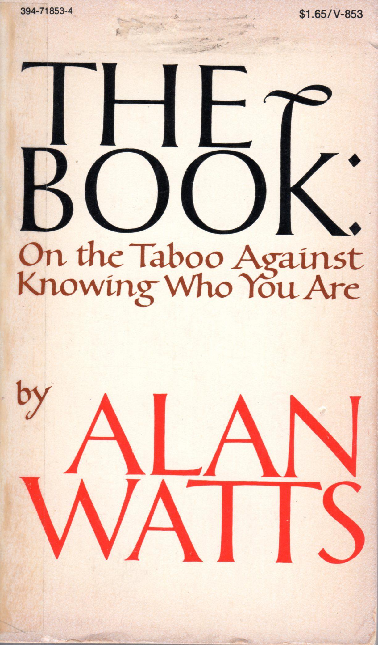 The book Alan Watts summary