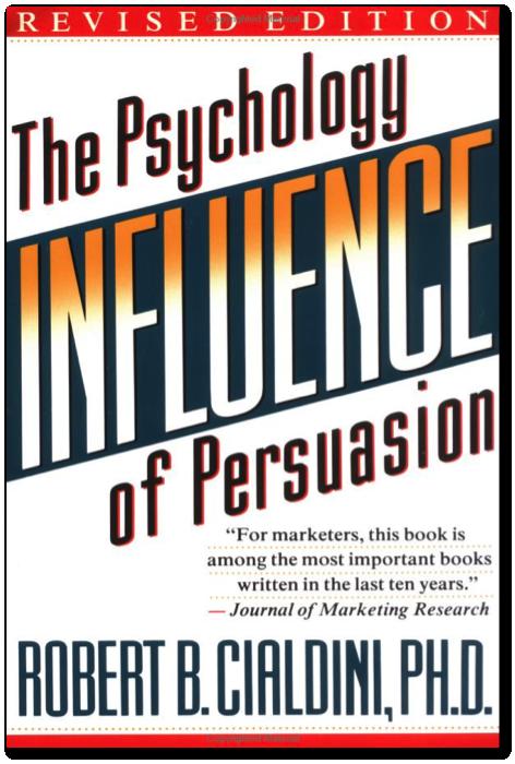 Influence Robert Cialdini Summary