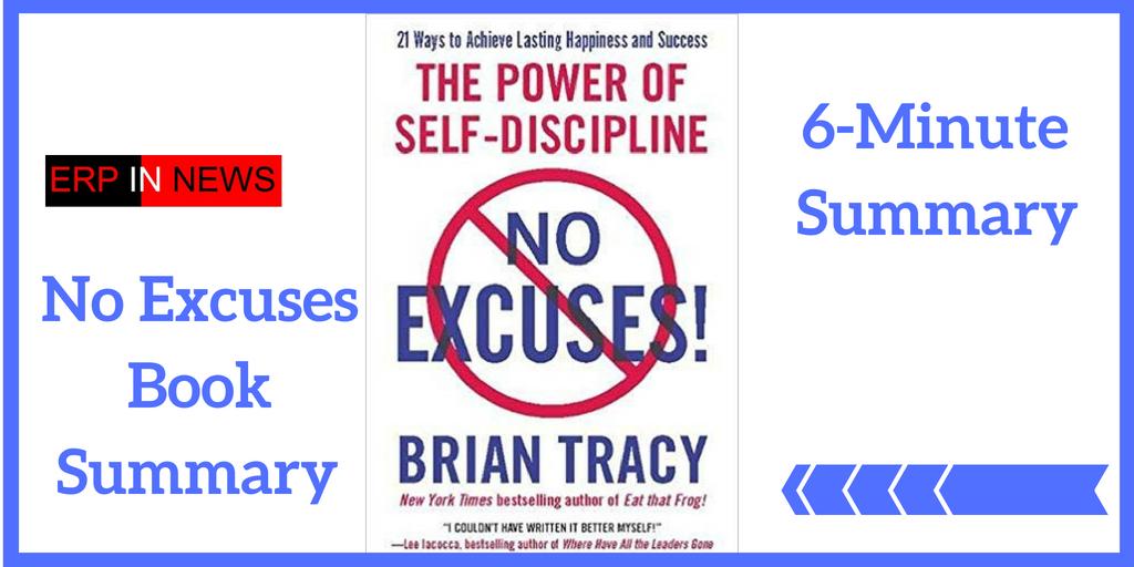 No Excuses Book Summary