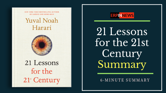 21 Lessons for the 21st Century Summary
