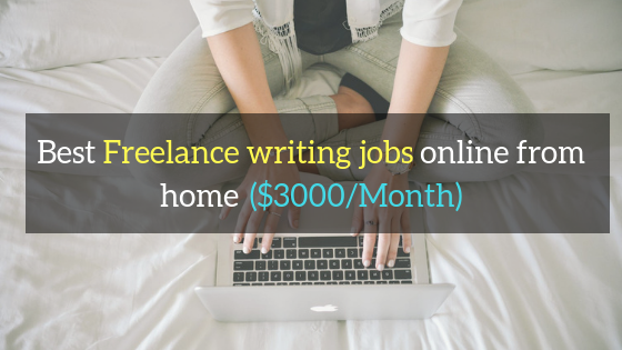 freelance writing jobs online from home