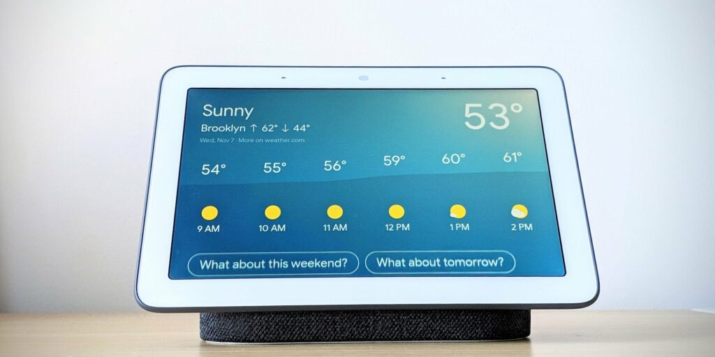 Google's new Home Hub