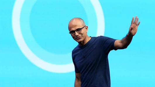 Microsoft cloud business