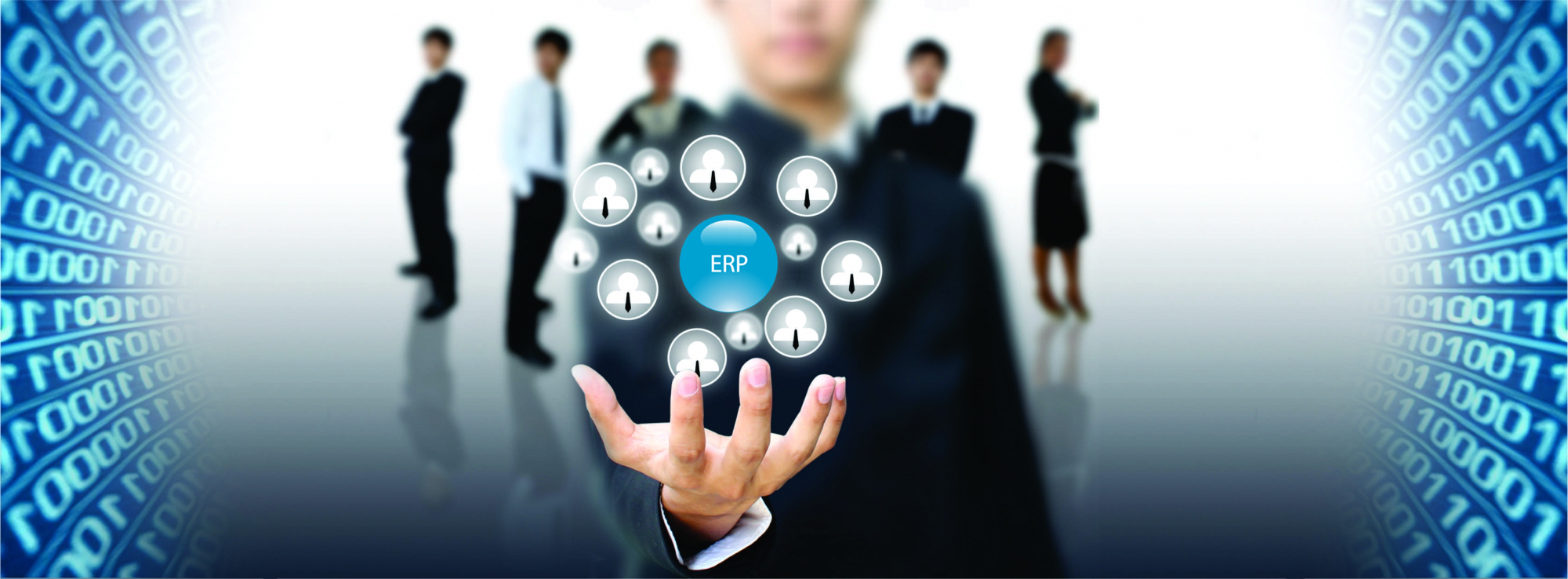 Integrated ERP solution