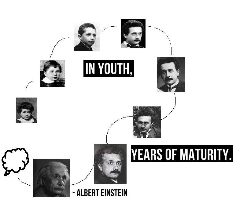 It was not just Albert Einstein